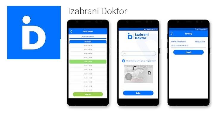 Zakazivanje zdravstvenih pregleda preko aplikacije na telefonu