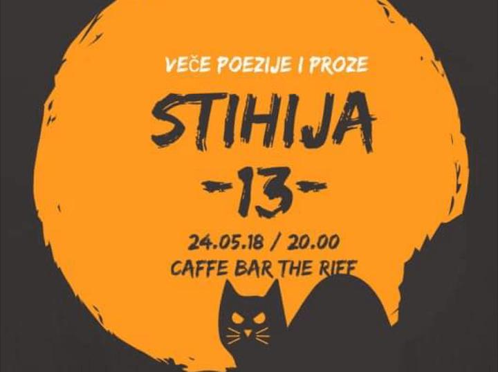 """13. Stihija večeras u ,,The Riff"""" caffe & bar-u"""