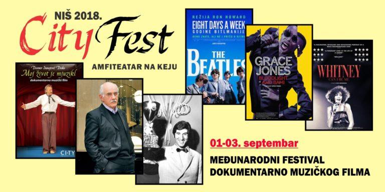 City fest – najbolji svetski dokumentarno muzički filmovi u Nišu