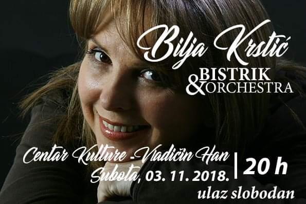 Koncert Bilje Krstić u Vladičinom Hanu