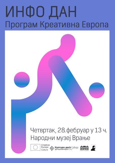 "Info Dan programa ,,Kreativna Evropa"" u Vranju"