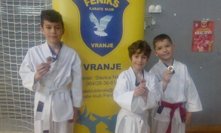 "Nove zlatne medalje za mlade ,,Fenikse"" na ,,XVI Champion of Kraljevo 2019."" turniru"