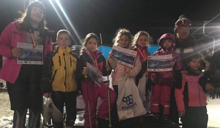 Četiri medalje za male Vranjanke na Alpskom ski kupu