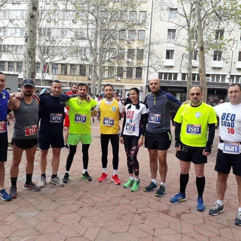 I Vranjski maratonci među osam hiljada učesnika na Beogradskom maratonu i polumaratonu