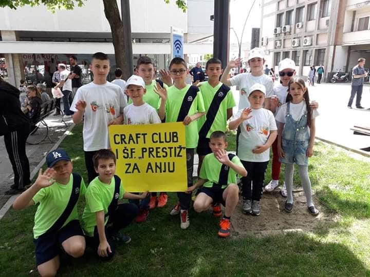 Uspešno završena akcija Craft Club-a za malu Anju