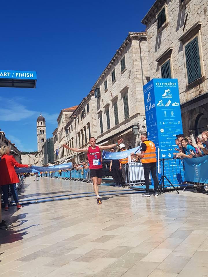 Vranjanac osvojio Dubrovački polumaraton