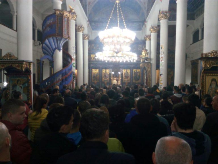 Vranjanci u velikom broju prisustvovali obeležavanju dana Vaskrsenja Gospodnjeg – Hristos vaskrse, Vaistinu vaskrse