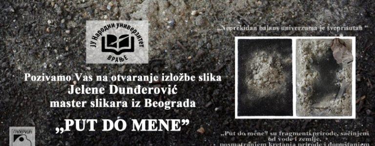 """U petak izložba slika """"Put do mene"""" Jelene Dunđerović"""