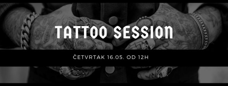 """BCtattoo studio tetovira u ,,The Riff-u"""" i pomaže bendu Mud Factory u prikupljanju novca za miksanje albuma u Švedskoj"""