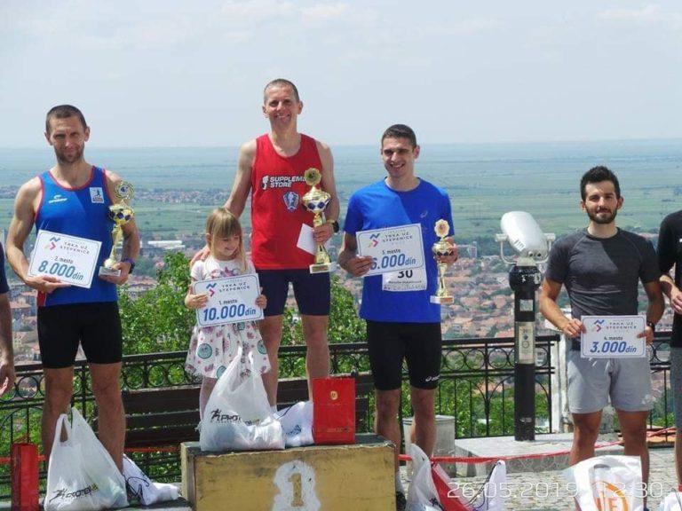 Kristijan Stošić prvi u Vršcu na trci uz stepenice