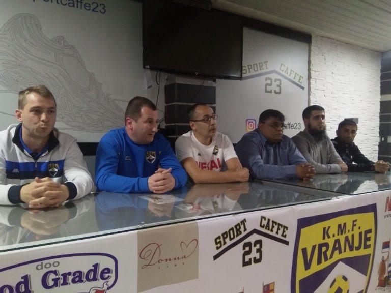 KMF Vranje igra prvu baraž utakmicu za opstanak u Prvoj ligi