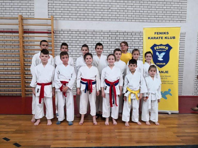Devetnaest zlatnih medalja za karatiste Feniksa