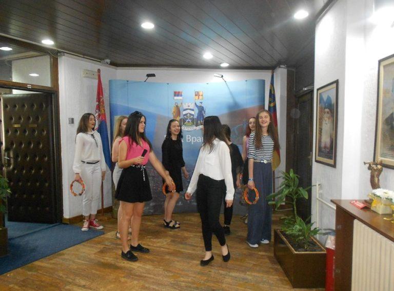 Vranje u ritmu Evrope: Priređen prijem za pobednice u Gradskoj upravi