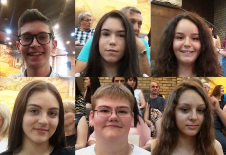 Ovo su đaci generacije osnovnih škola u Vranju