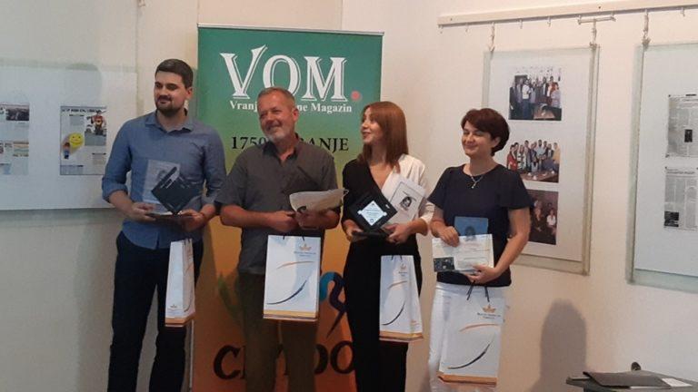 "Dodeljene novinarske nagrade ""Slađana Veljković"""