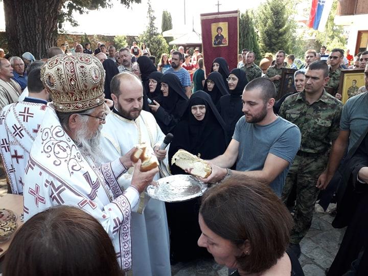 Obeležena slava Svetog Pantelejmona u Lepčincu