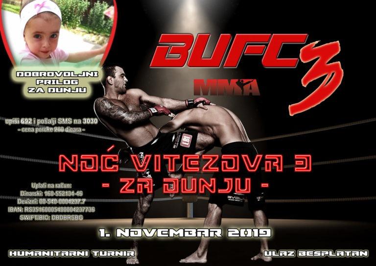 Humanitarni Međunarodni MMA turnir za Dunju u Bujanovcu