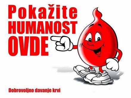 Prikupljeno sedamnaest jednica krvi u akciji dobrovoljnog davanja krvi, 4. jun nova akcija!