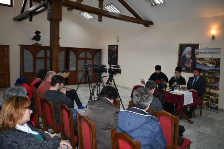 Одржана конференција за штампу поводом обележавања 950 година манастира Преподобног Прохора Пчињског