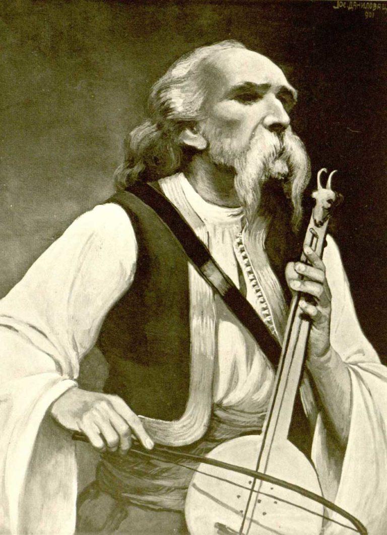 Filip Vilić, kasnije najpoznatiji srpski guslar Filip Višnjić i njegov život