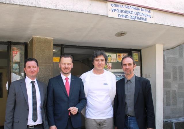 Grawe: Oprema za vranjsko zdravstvo, ukupna pomoć Srbiji preko 3 miliona