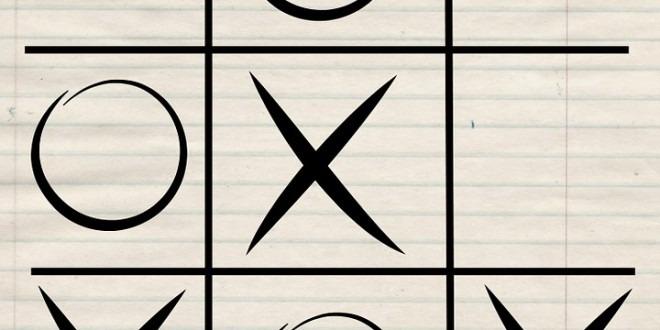 Ko je za partiju X/O? Još jedna ideja za zabavu sa vašim mališanima