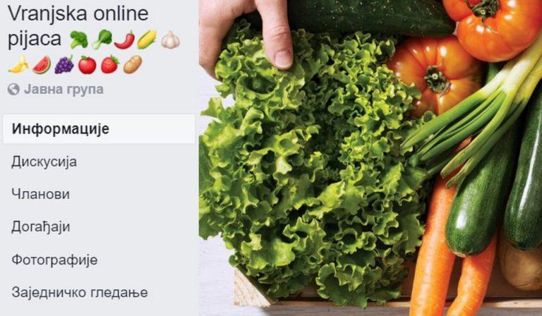 Vranje se popelo jedan stepenik više, prva online pijaca u Vranju sada radi