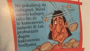"""Deca u vrtiću u Ljukovu dobila slikovnicu """"Grozote i časna smrt"""", prepunu opisa ubistva"""
