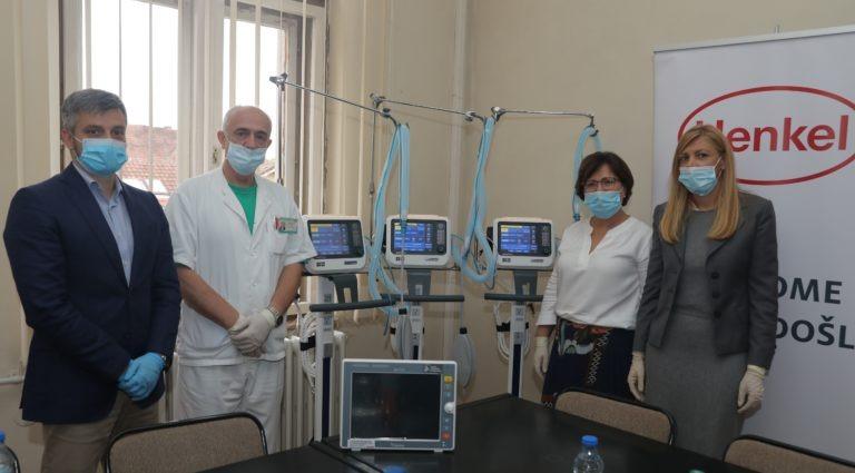 Fondacija Novak Đoković i kompanija Henkel Srbija donirali respiratore i kliničke monitore Opštoj bolnici u Kruševcu