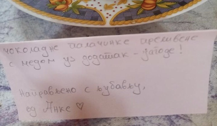 Kliše, ali ljubav jeste u malim znacima pažnje: ponosni tata iz Vranja se pohvalio lepim gestom svoje ćerke