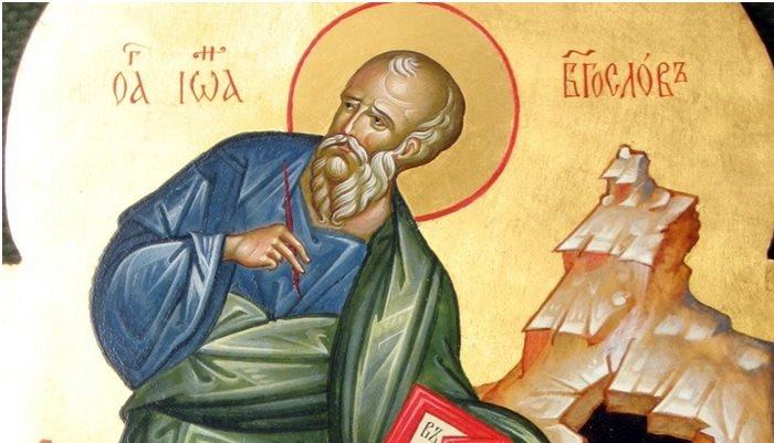Danas je Sveti Jovan Bogoslov, sin groma i omiljeni Hristov učenik