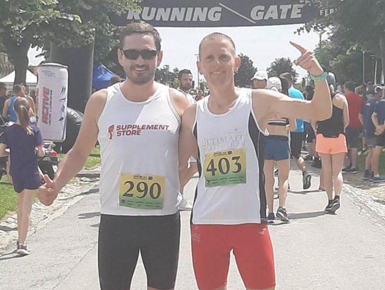 Vranjski maratonci drugo mesto u Iloku u Hrvatskoj na polumaratonu