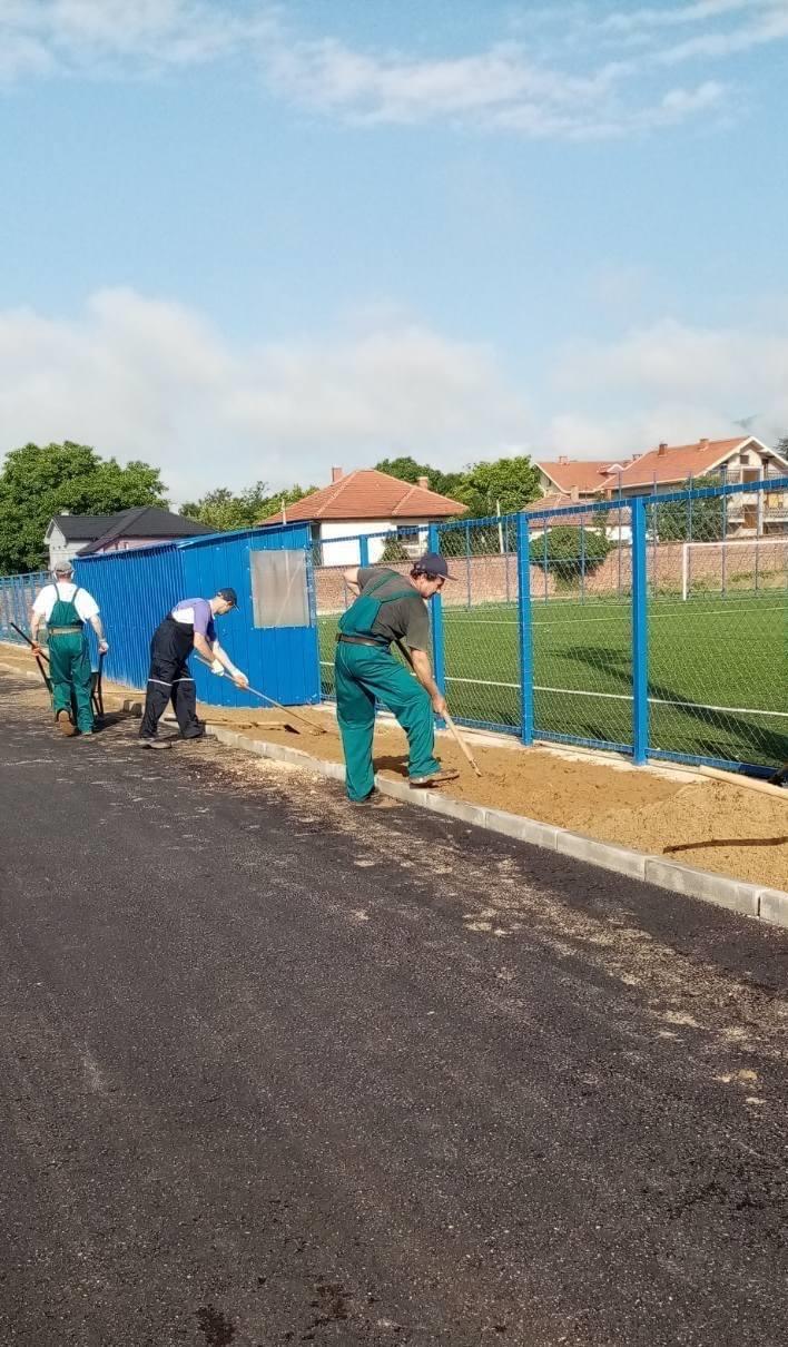 U toku uređenje gradskog stadiona u Vranju
