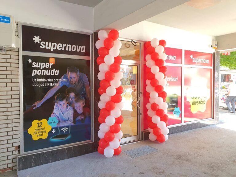 Super vest za sve stanovnike Leskovca i okoline Otvorena Supernova poslovnica u Leskovcu