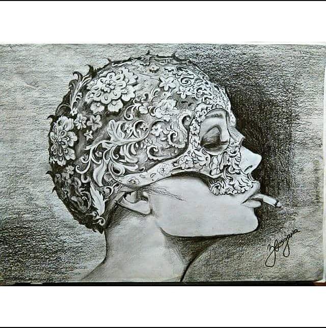 "Zvezdana Antić tehnikom ,,negative drawing"" pravi magiju na papiru"