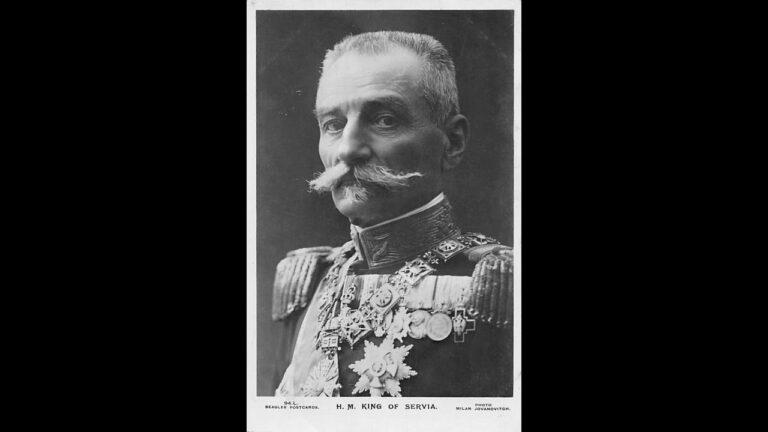 Na današnji dan 1914., Petar I Karađorđević se povukao sa vlasti